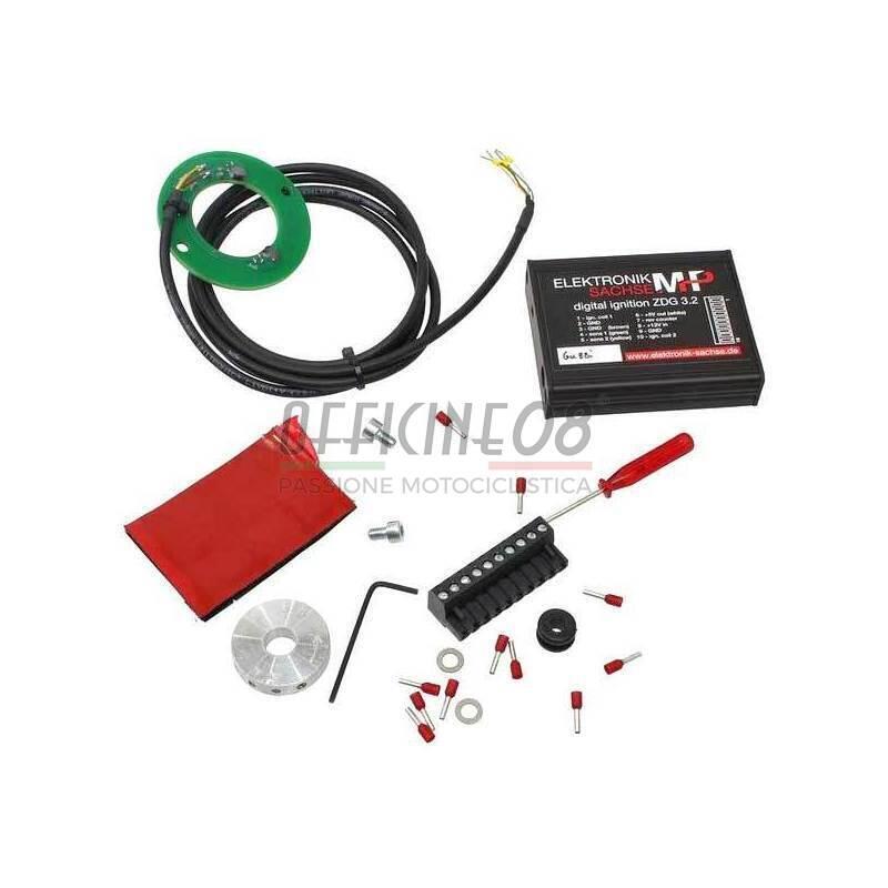 Centralina di accensione elettronica per Moto Guzzi V 65 Sachse 11mm
