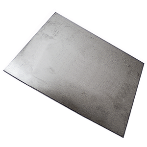 Alloy sheet 5754 thickness 3mm, 600x300mm