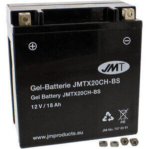 Batteria di accensione JMT YTX20CH-BS gel 12V-18Ah
