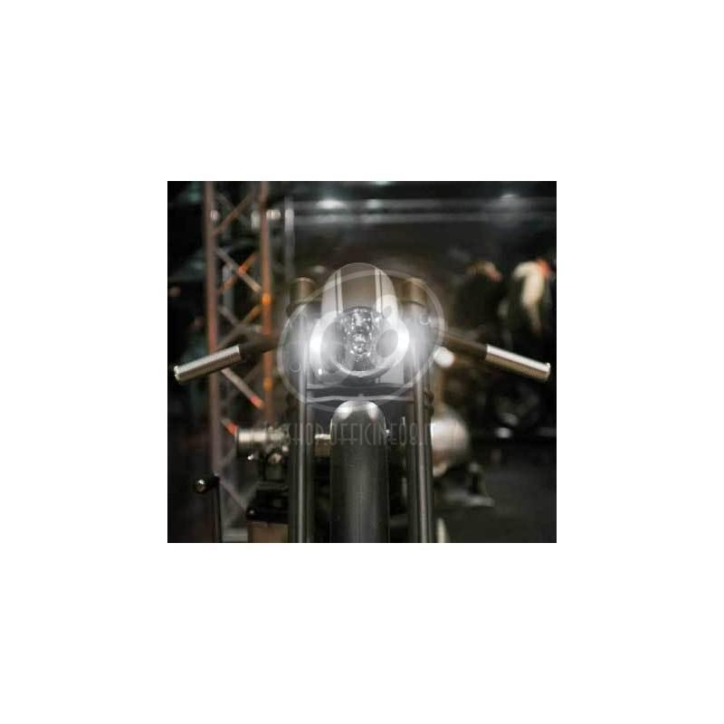 Additional front position light led Kellermann Bullet Atto chrome - Pictures 2