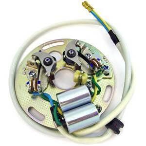 Kit contatti di accensione e condensatori per Honda CB 500 Four K completo