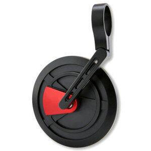 Specchietto retrovisore bar-end Highsider Enterprise-EP1 nero/rosso