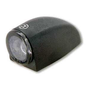 Additional front position light led Highsider Proton Three black matt smoked