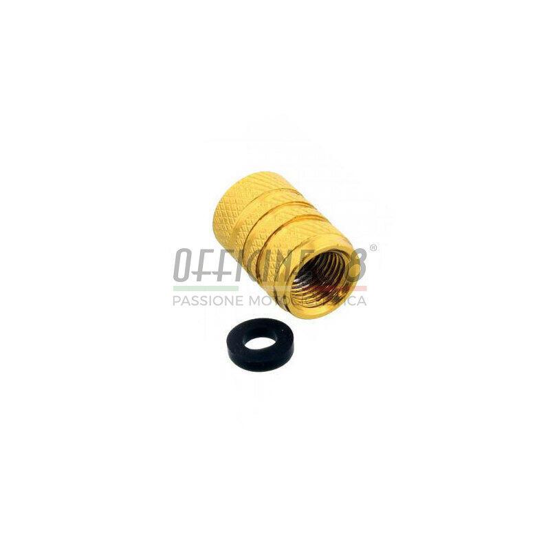 Tappo valvole pneumatici Pro Bolt alluminio oro