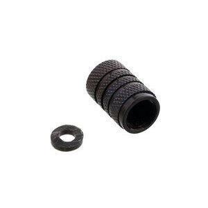 Tappo valvole pneumatici Pro Bolt alluminio nero