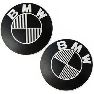 Emblema serbatoio per BMW R Boxer 2V 70mm autoadesivo CNC coppia