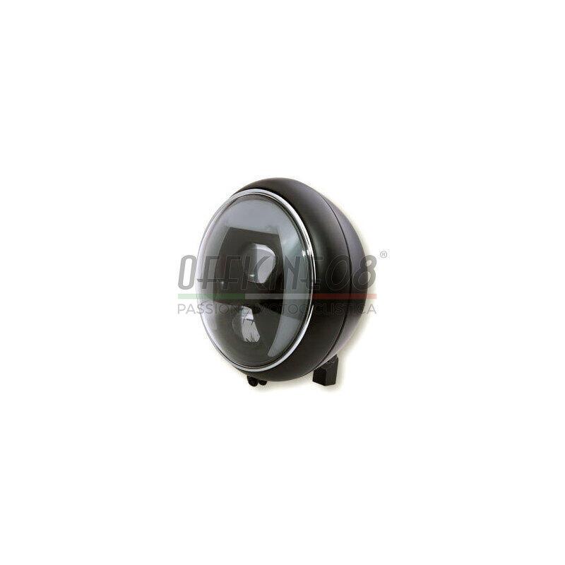 Full led headlight 7'' Highsider Yuma2 Type8 low mounting black matt