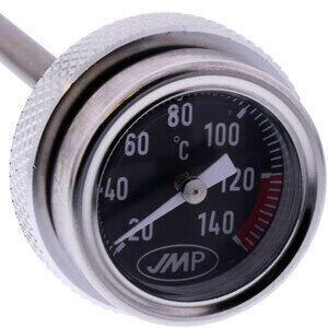 Termometro olio M30x2 lunghezza 120mm fondo nero