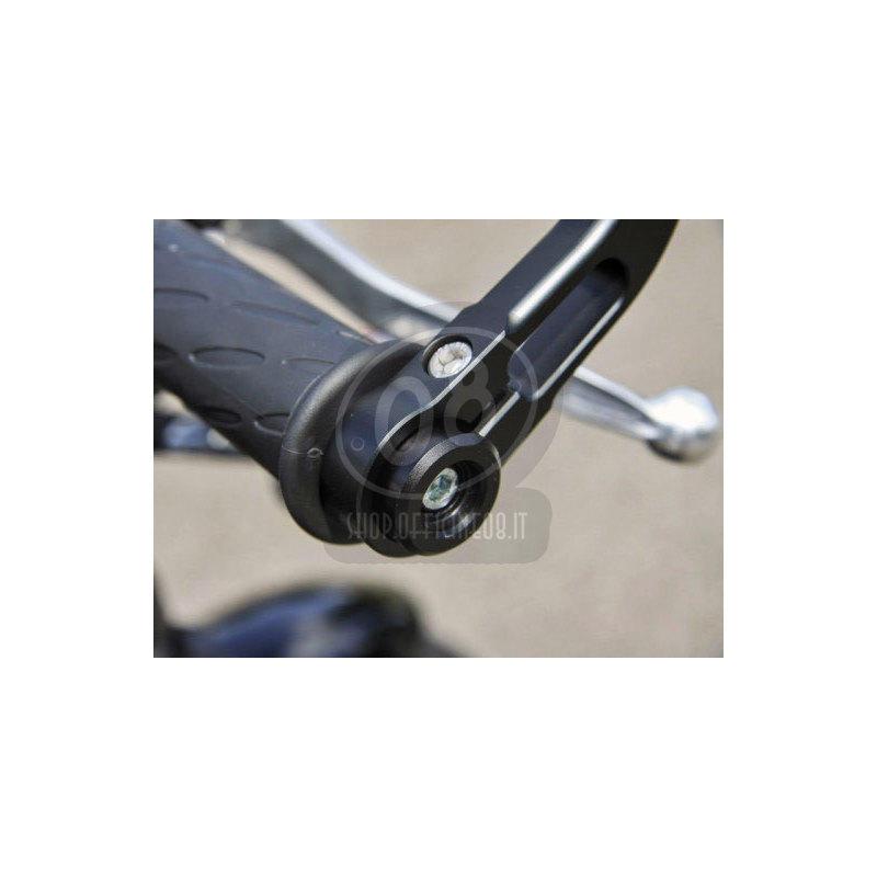 Coppia contrappesi portaspecchietti per Ducati Scrambler i.e. '17- LSL nero - Foto 2