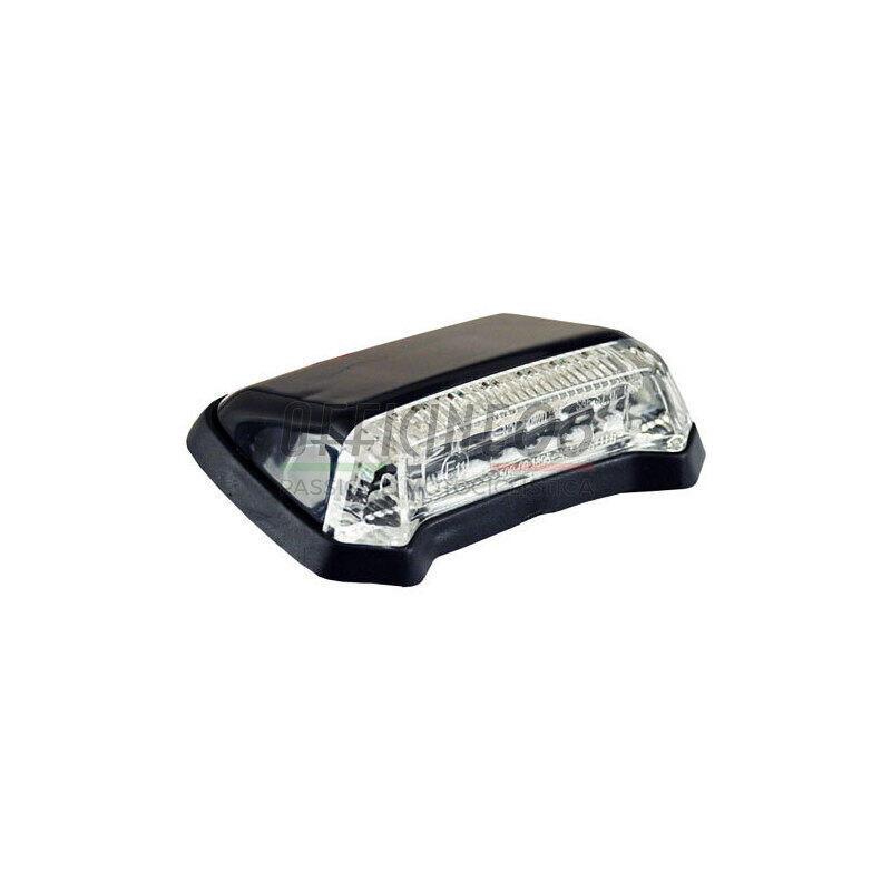 Fanalino posteriore led Nitro nero trasparente