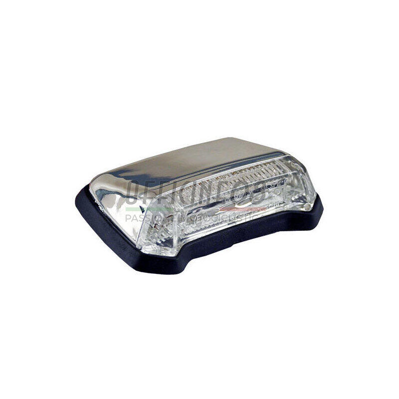 Fanalino posteriore led Nitro cromo trasparente