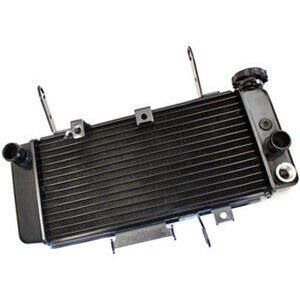 Radiatore motore per Suzuki SV 650 '05- acqua nero