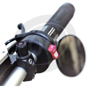 Cover foro fissaggio specchietti retrovisori Highsider nero opaco coppia - Foto 2