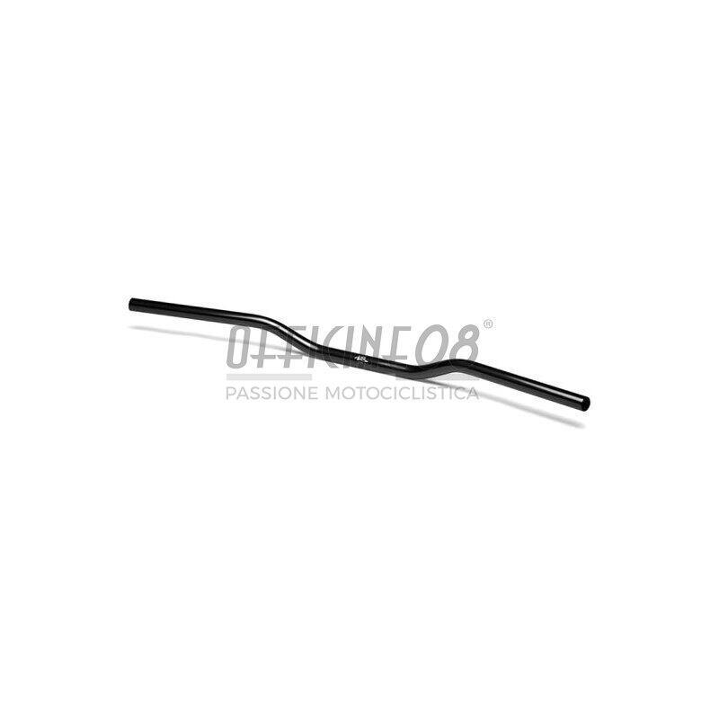 Manubrio 22mm LSL Street Bar alluminio nero lucido