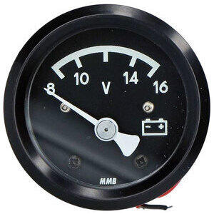 Analog voltmeter 8-16V MMB