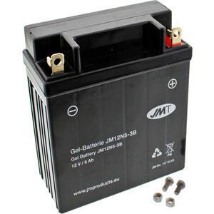 Batteria di accensione JMT 12N5-3B gel 12V-5AH
