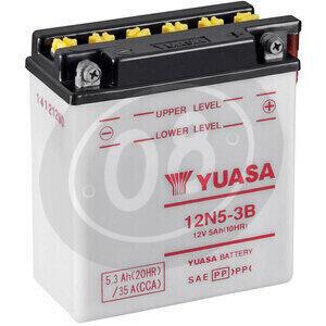 Batteria di accensione Yuasa 12N5-3B 12V-5AH