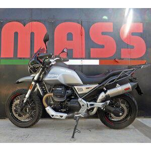 Finale di scarico per Moto Guzzi V 85 TT Mass Oval titanio