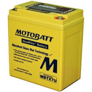 Batteria di accensione MotoBatt MBTX7U 12V-8Ah