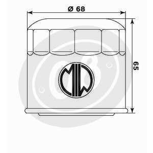 Filtro olio motore Meiwa S3011 - Foto 2