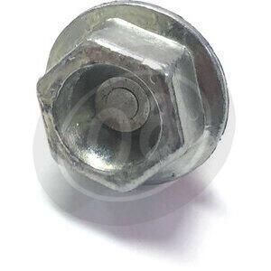 Bullone olio M20x1.5 magnetico ottone grigio - Foto 2