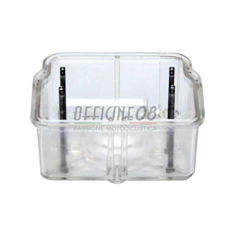 Vaschetta carburatori Dell'Orto PHF, PHM e VHBT plastica trasparente