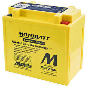 Battery Harley-Davidson Street sealed Motobatt MBTX20UH 12V-16.5Ah