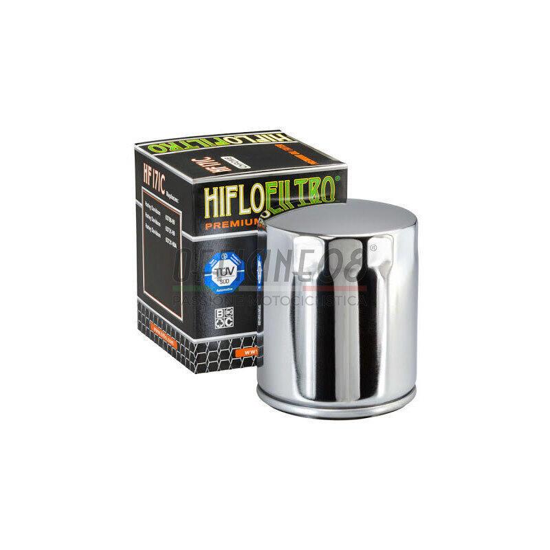 Filtro olio motore HiFlo HF171C cromo