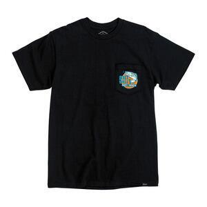 T-Shirt maniche corte Biltwell Bait poket nero