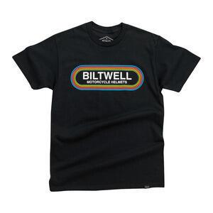 T-Shirt maniche corte Biltwell Rock 'n Roll nero