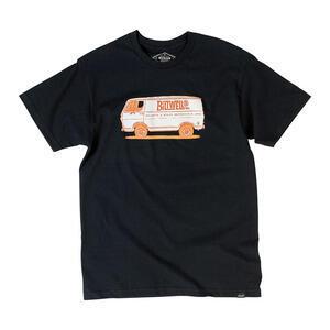 T-Shirt maniche corte Biltwell Van Diego nero