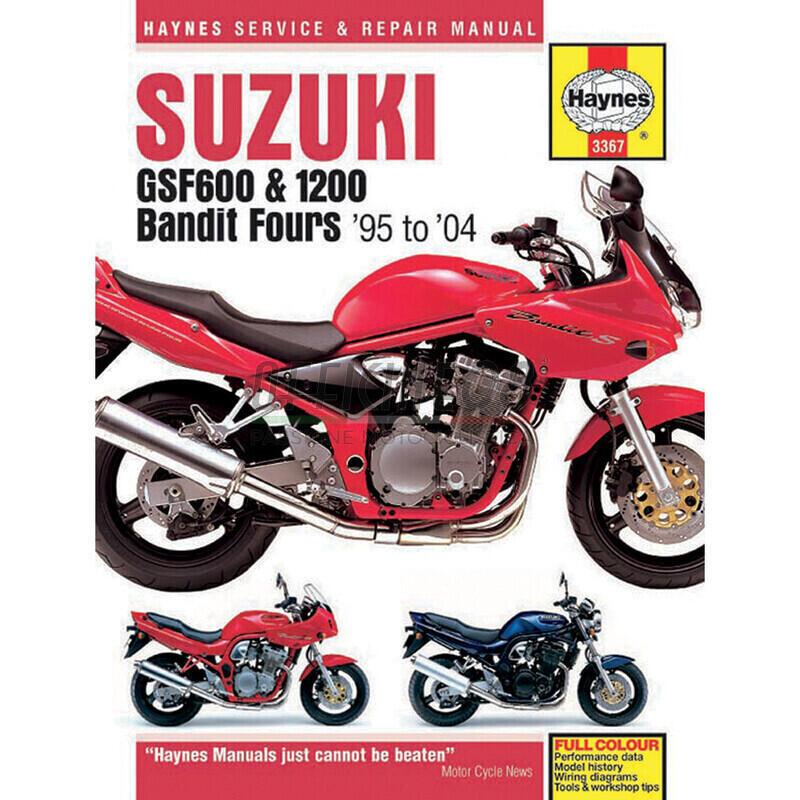 Manuale di officina per Suzuki GSF Bandit '95-'04