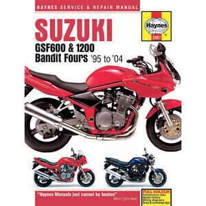 Manuale di officina per Suzuki GSF 600-1200 Bandit '95-'04