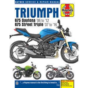 Manuale di officina per Triumph Street Triple 675