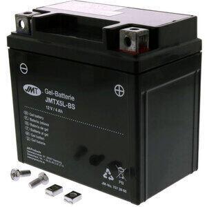 Batteria di accensione JMT YTX5L-BS gel 12V-4Ah