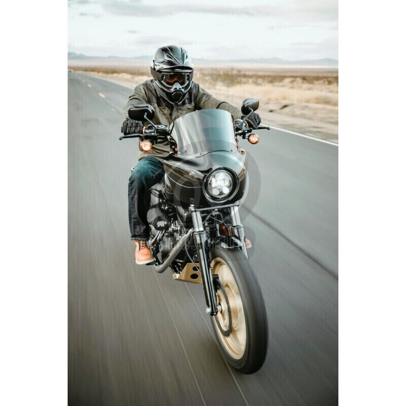 Camicia moto Icon Upstate verde scuro/nero - Foto 3