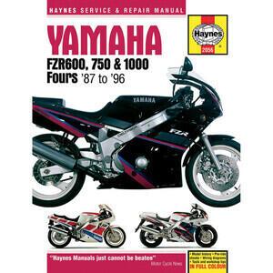 Manuale di officina per Yamaha FZR 600-1100