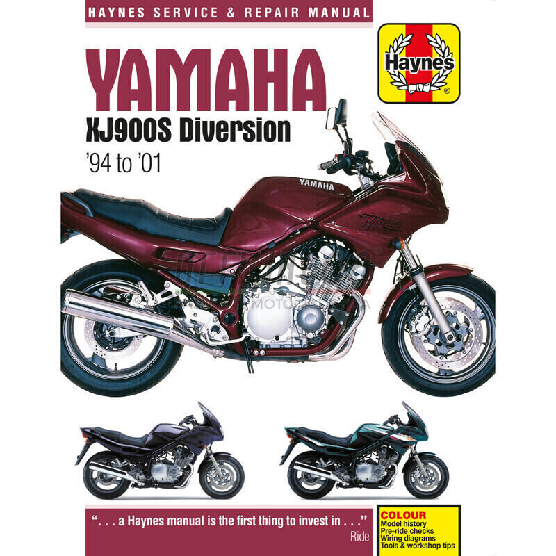 Manuale di officina per Yamaha XJ 600 S Diversion