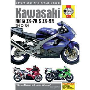 Manuale di officina per Kawasaki ZX-9R -'04