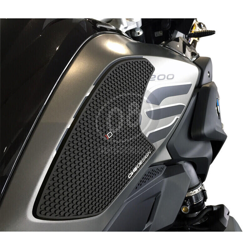 Paraginocchia serbatoio per BMW R 1200 GS '13- nero coppia - Foto 2
