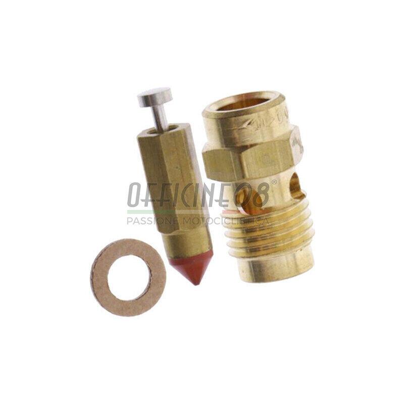 Valvola a spillo carburatori Dell'Orto PHBE, PHBH, PHF, PHM e VHSB n.150 completa