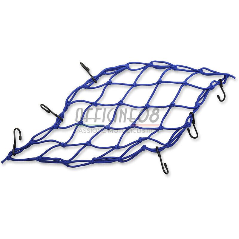 Rete elastica 38x38cm blu