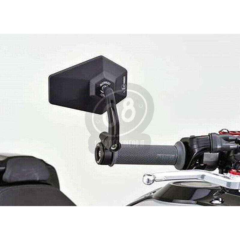 Specchietto retrovisore bar-end Daytona D-4 nero - Foto 2