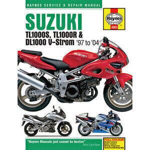 Manuale di officina per Suzuki DL 1000 V-Strom -'04