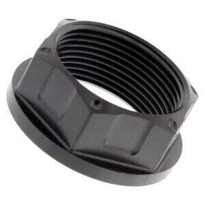 Dado perno ruota M25x1.5 chiave 28mm titanio nero