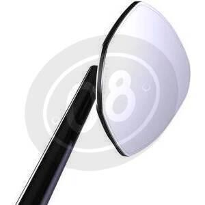 Specchietto retrovisore reversibile Motogadget M-View Sport lungo senza vetro nero - Foto 6