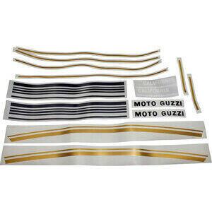 Kit adesivi Moto Guzzi 850 T3 California oro/nero