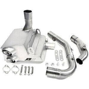 Exhaust system Hypermotard 1100 -'09 stainless QD Exhaust Ex-Box