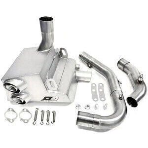 Exhaust system Multistrada 1100 stainless QD Exhaust Ex-Box