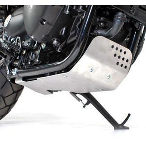 Paramotore per Triumph Thruxton 1200 coppa olio grigio